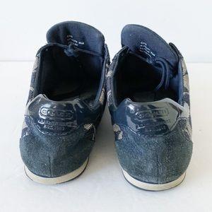 Coach Shoes - Coach Katelyn blue tennis shoes sneakers